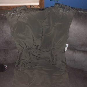 Green dress AQUA size L NEW W TAGS